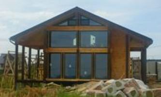 Будівництво дерев`яних будинків - який матеріал вибрати