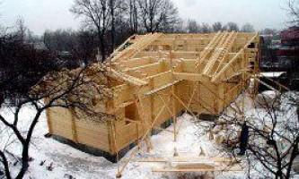 Будівництво котеджів з бруса