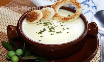 Суп пюре з кабачків