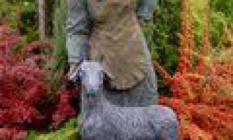 Технологія виготовлення садових скульптур