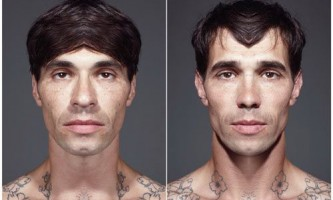 Теорія про симетричності людського обличчя