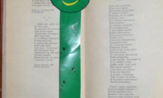 Зручна закладка для книг «жаба»