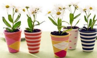 Прикраса квіткових горщиків