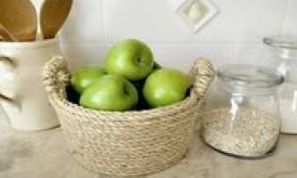 Прикраса посуду з сизалі