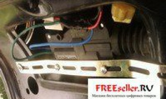 Установка електроприводу замку багажника ваз 2109 / ваз 2114