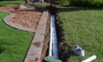 Пристрій водовідведення та дренажу на дачній ділянці