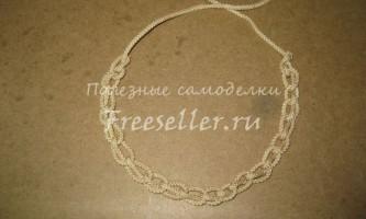Вузол-ланцюжок з мотузки або шнура