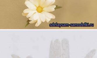 Весняні квіти з паперу