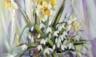 Весняні квіти. Назви
