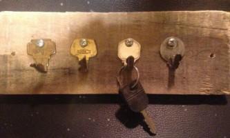Вішалка з ключів