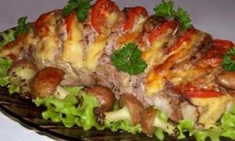 Смачні страви з свинини або що можна приготувати з свинини