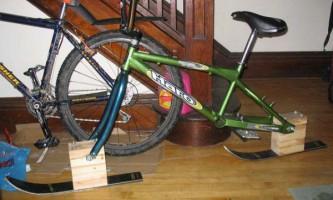 Зимовий велосипед своїми руками